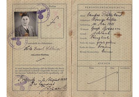 passport has been received from the consular section wwii archives page 7 of 16 our passports