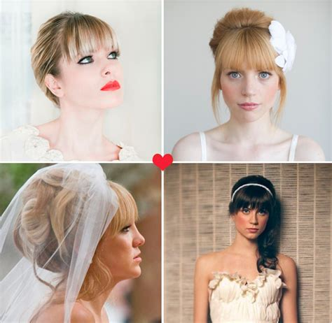bangs or no weddingbee