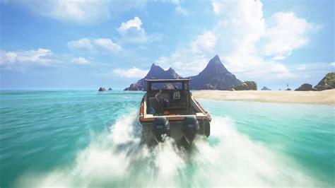 boats ylands uncharted 4 island boat youtube