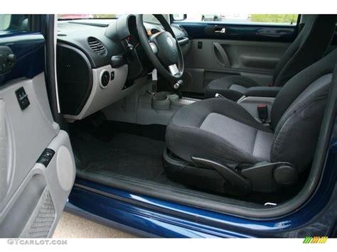 2004 Volkswagen Beetle Interior by Gray Interior 2004 Volkswagen New Beetle Gls 1 8t Coupe