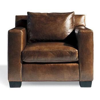 cardiff brown leather chair chairs ottomans cost