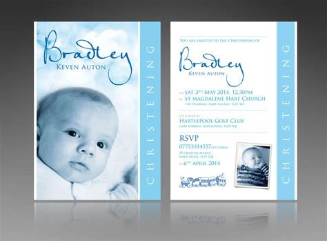 unique invitation card design for christening thank you cards invitations wedding baby