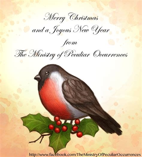 best wishes of the season best wishes of the season the ministry of peculiar
