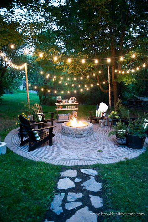 string lights backyard 27 best backyard lighting ideas and designs for 2018