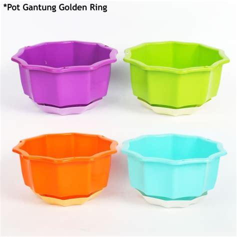 Pot Warna by Pot Gantung Tanaman Cantik Taman Pot Golden Ring Warna