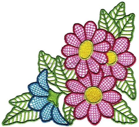 flower designs embroidery designs 43 fancy flower designs