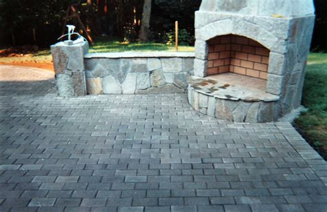 Fireplace Patio by Fn Masonry 860 417 8500