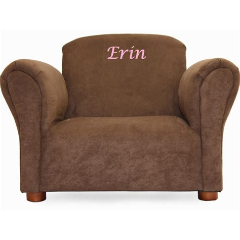 personalized recliners for toddlers keet little furniture personalized kids club chair