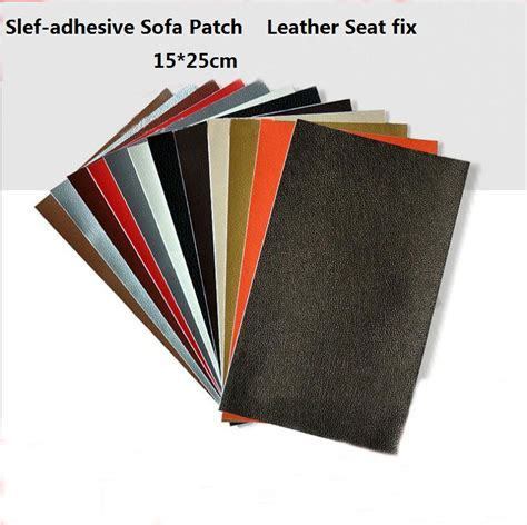self adhesive leather repair patches peel and stick self