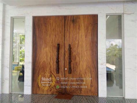 Kunci Pintu Solid 2017 pintu papan kayu solid utuh trembesi mebel jepara shop