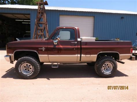 buy used 1983 chevy truck 4x4 www imgkid com the image kid has it