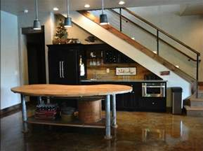Stairs In The Kitchen by 19 Space Saving Under Stairs Kitchens You Need To See