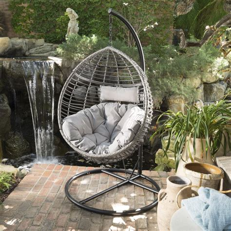 outdoor swing chair wicker swing chair repair home ideas collection lovely