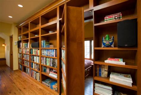 hidden room plans 14 secret bookcase doors always fun and always mysterious