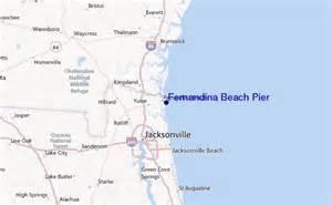 fernandina florida map fernandina pier surf forecast and surf reports