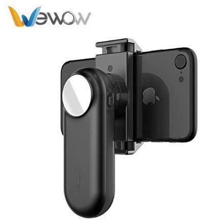 Wewow Fancy Mini Gimbal Stabilizer 1 Axis For Smartphone Hitam wewow fancy mini gimbal stabilizer 1 axis for smartphone black jakartanotebook