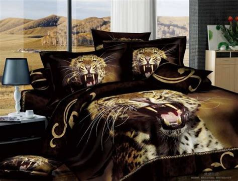 Cheetah Bed Set by Colorful Mart Leopard Style14 Cheetah Print Leopard Print