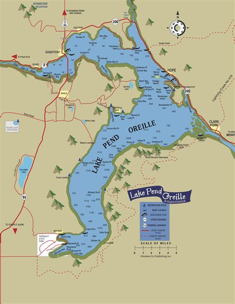 pend oreille river boat launch map lake pend oreille idaho club