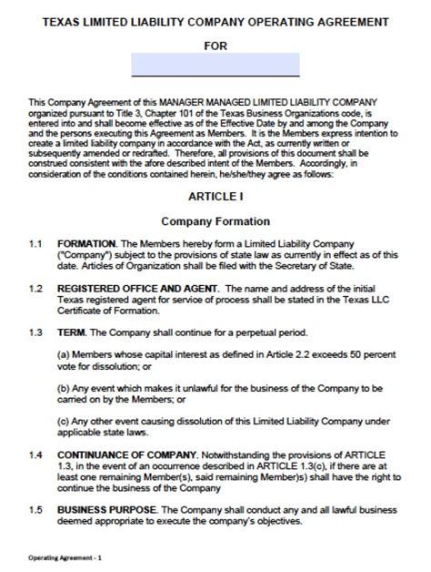 member managed llc operating agreement youtube