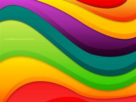 olas de colores 1024x768 abstractos im 225 genes para fondos de pantalla