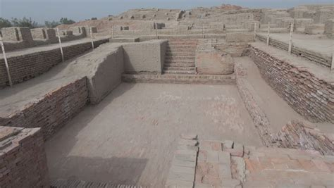 great bathtubs mohenjo daro in sindh pakistan stock footage video