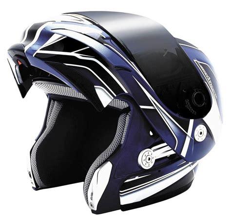 Kbc Blue Black kbc ffr modular helmet black blue