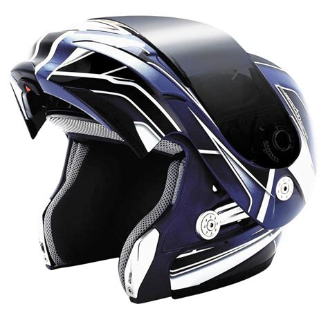 Helm Modular kbc ffr modular helmet retro black green