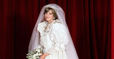Dress Diana princess diana s wedding dress a look back at iconic