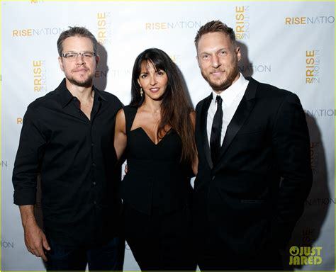 matt walsh disney matt damon luciana enjoy night out after disneyland trip