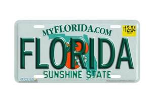 Vanity Plates Florida by Airstrike 174 617 Quot Florida State Plate