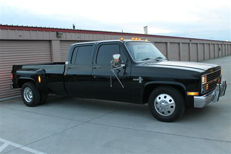 blacked   chevrolet  silverado crew cab