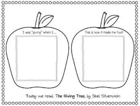 tree activities 7 best images about 1st grade she silverstein on