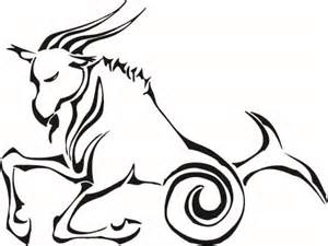 Capricorn Symbol Outline by Capricorn Tattoos And Designs Page 4