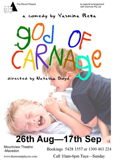 themes in god of carnage god of carnage theatrepeople