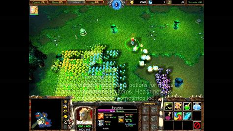 tutorial warcraft 3 warcraft 3 terrania tutorial botanist youtube