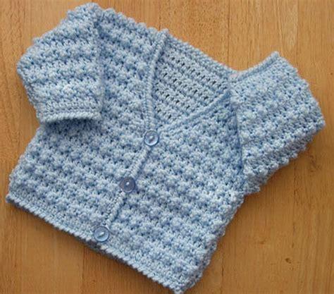 baby jersey pattern free babies prem 12 mths cardigan crochet pattern no 218