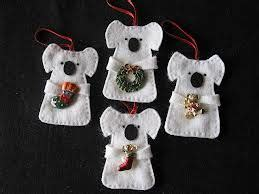 australia christmas craft australian felt decorations patterns search aussies pinte