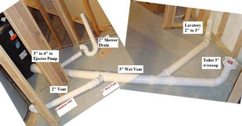 Cutting Basement Floor For Plumbing by Basement Bathroom Venting Solutions Rooms