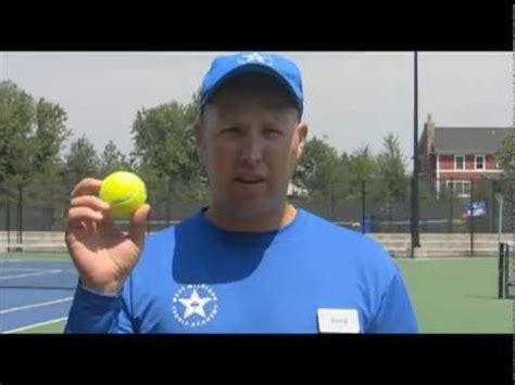 how to swing tennis ball in cricket david s tennis ball tip youtube