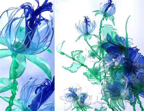 fiori di plastica riciclata fiori di plastica riciclata diy