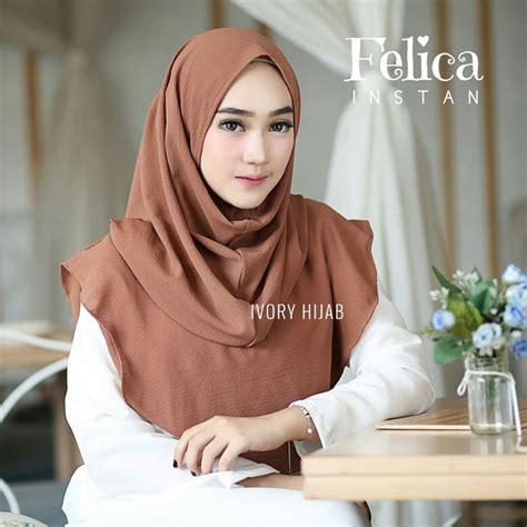 Jilbab Instan Pesta 2017 jilbab terbaru 2018 jilbab instan felica praktis langsung pakai bundaku net