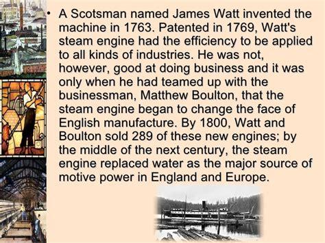 james watt biography in marathi language the industrial revolution presentation