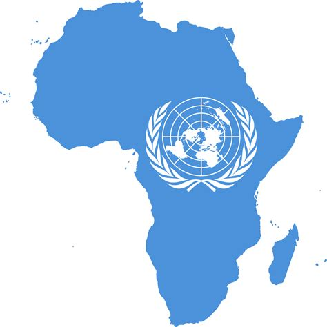 united nations in south africa file flag map of africa united nations png wikimedia