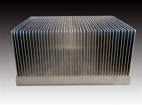 types of heat sink of bonded fin heat sink type swaged heatsink