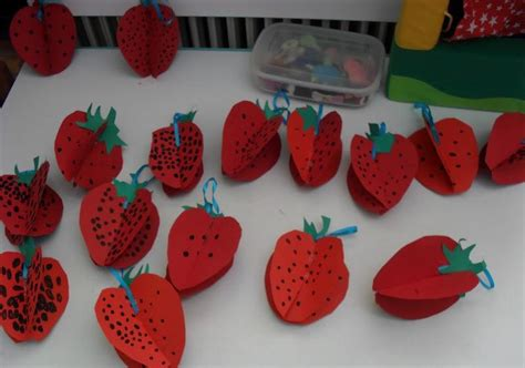 fruit 3d craft crafts actvities and worksheets for preschool toddler and