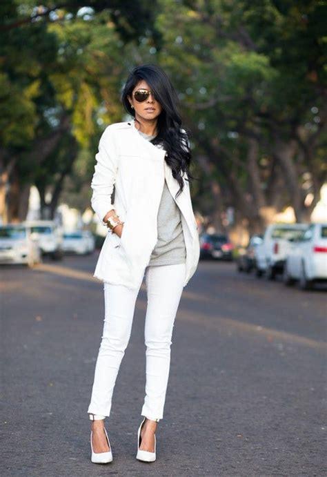Master Celana Wanita Putih fashion tips cantik dan modis dengan celana warna putih vemale