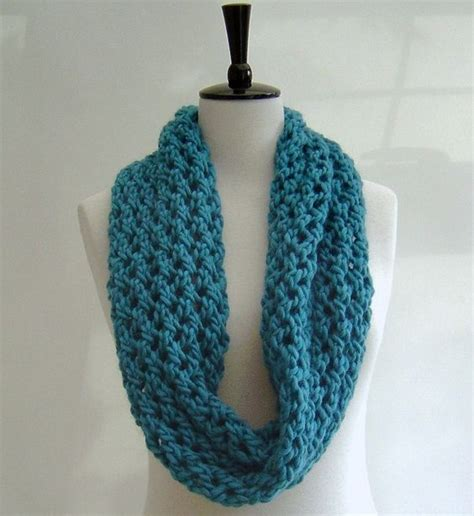 pattern for knitting a scarf beginner knitting pattern infinity scarf quick and easy beginner