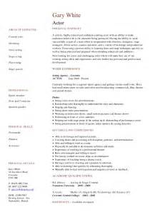 Voice Resume Template by Cv Resume Exles To For Free