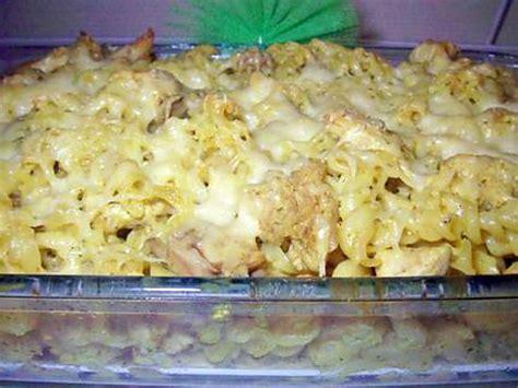 recette de gratin de pates aux poulet