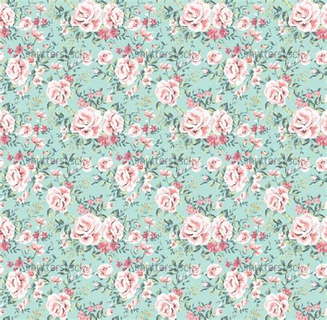 floral pattern website background seamless vintage flower pattern on navy background